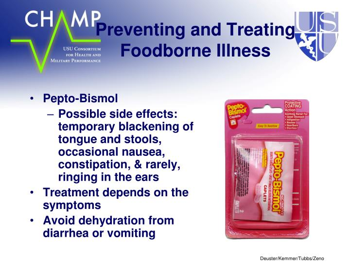 Preventing and Treating Foodborne Illness