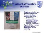 treatment of traveler s diarrhea