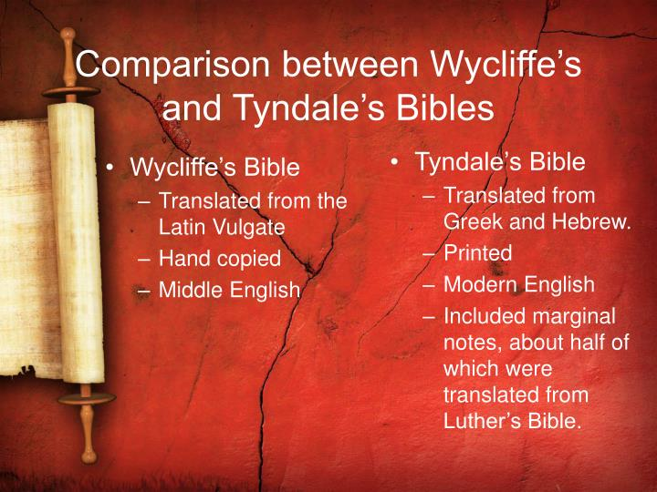 Wycliffe's Bible