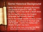 some historical background1
