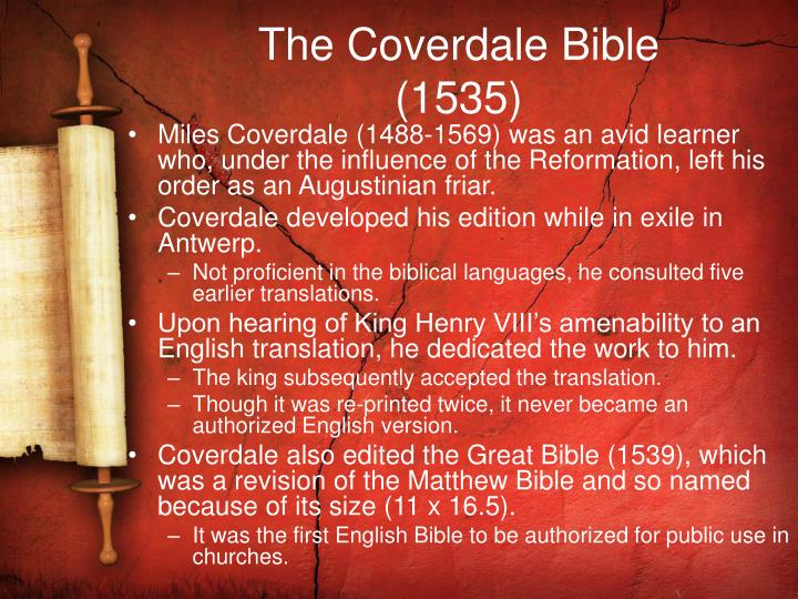 The Coverdale Bible
