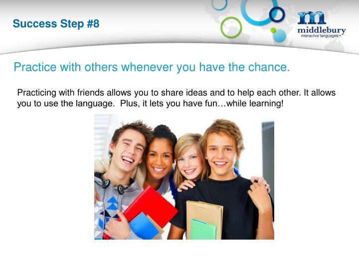Success Step #