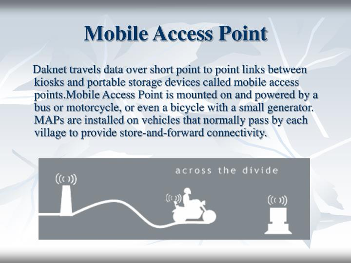 Mobile Access Point