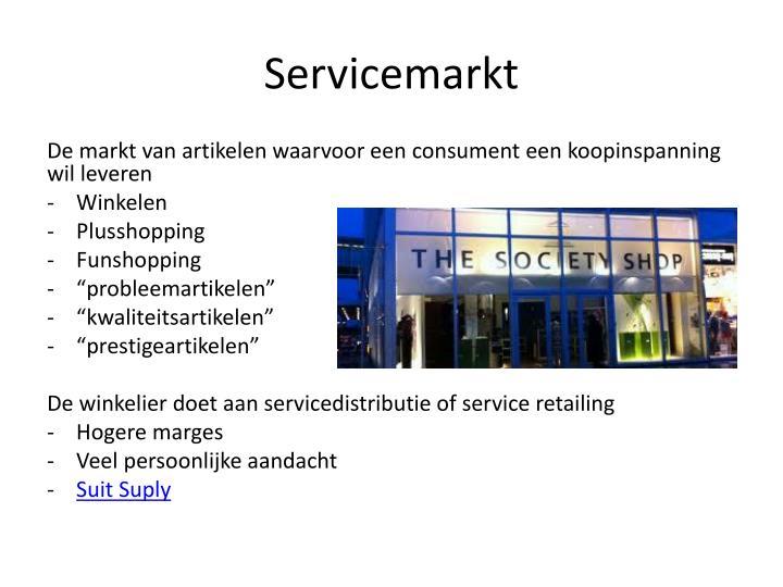 Servicemarkt