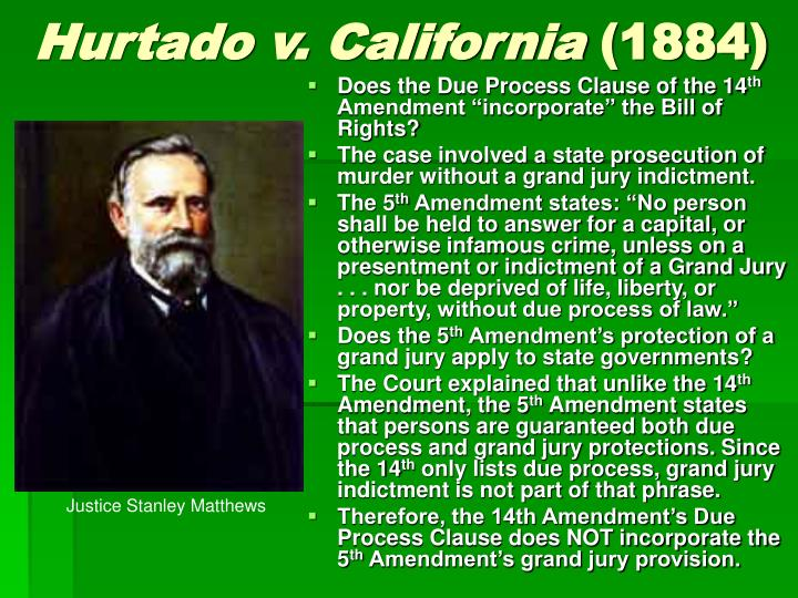 Hurtado v. California