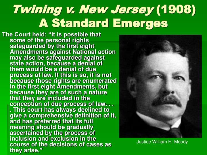 Twining v. New Jersey
