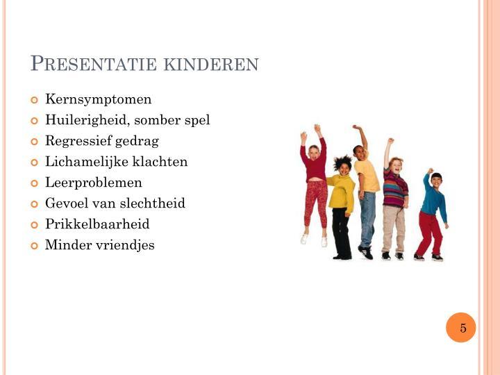 Presentatie kinderen