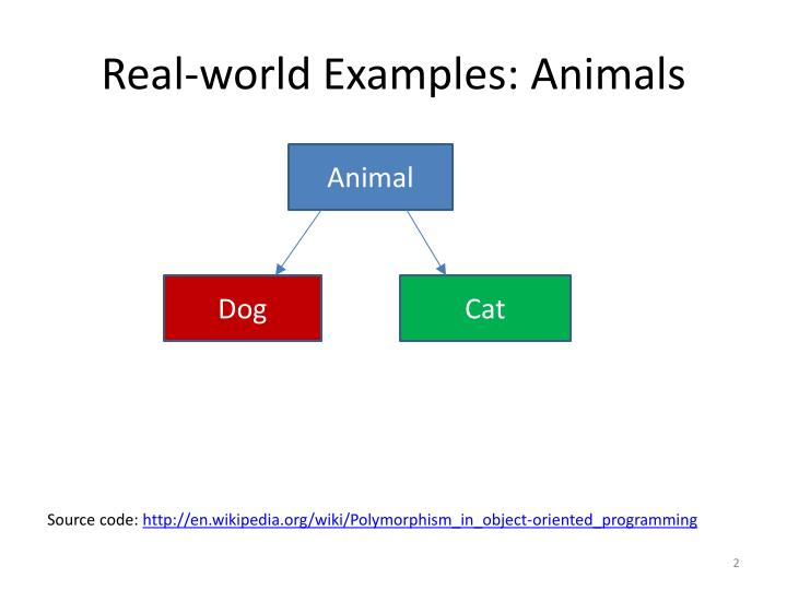 Real-world Examples: