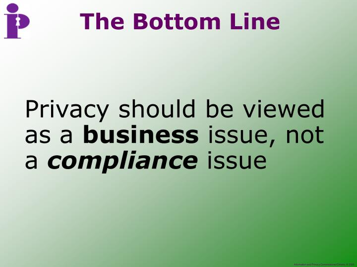 Privacy should be viewed as a