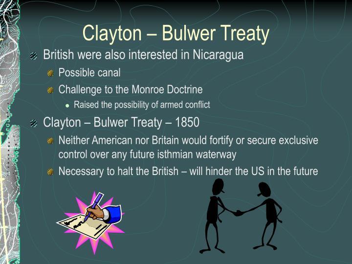 Clayton – Bulwer Treaty
