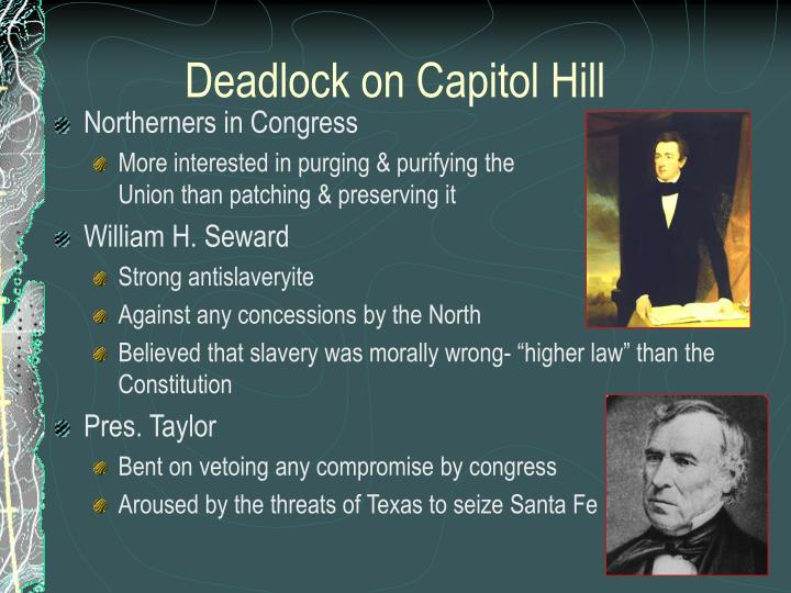 Deadlock on Capitol Hill