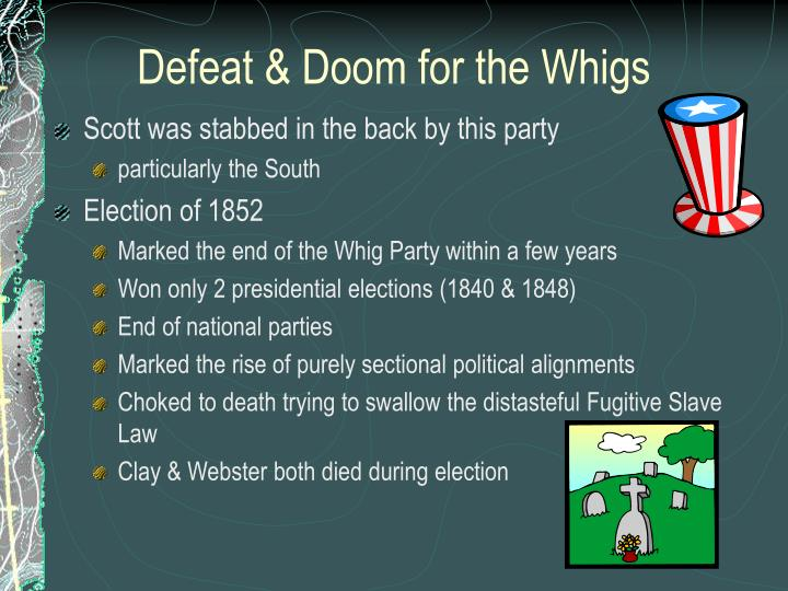 Defeat & Doom for the Whigs