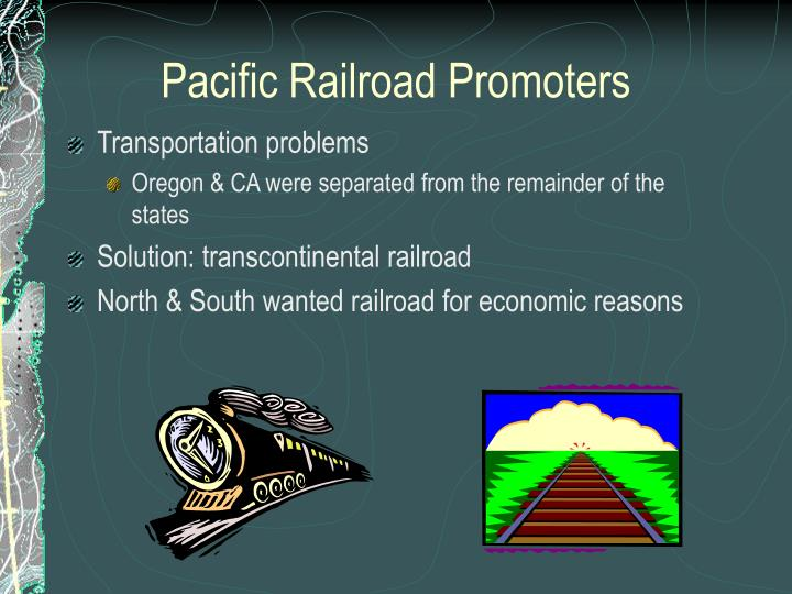 Pacific Railroad Promoters