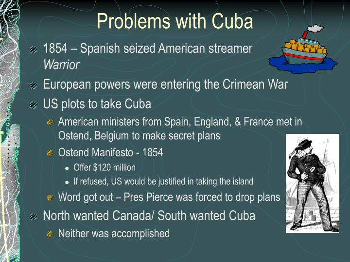 Problems with Cuba