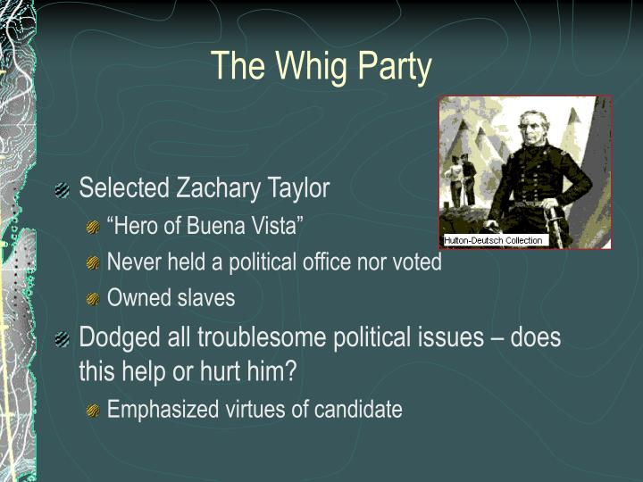 The Whig Party