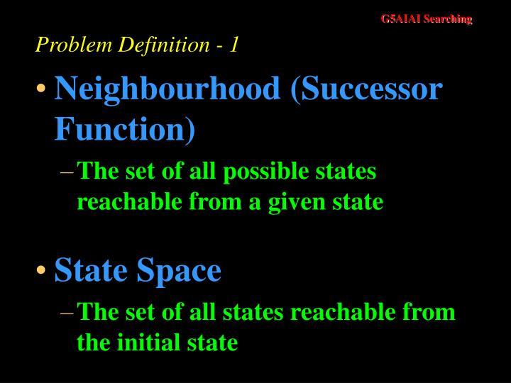 Problem Definition - 1