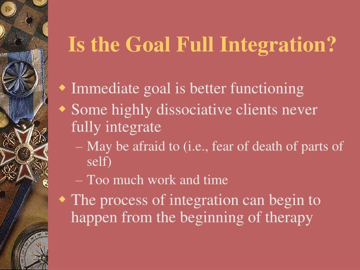 Is the Goal Full Integration?