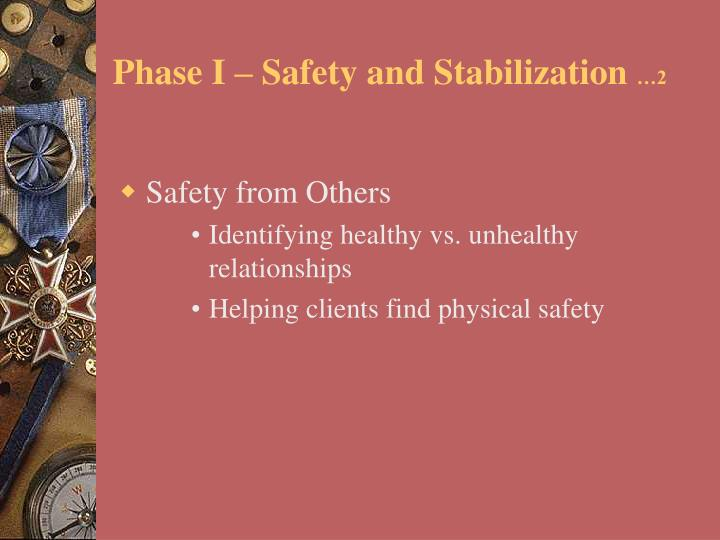 Phase I – Safety and Stabilization