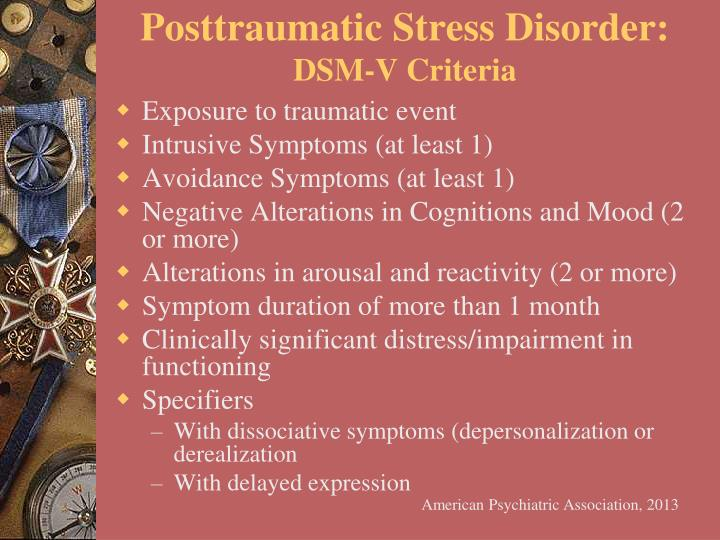 Posttraumatic Stress Disorder: