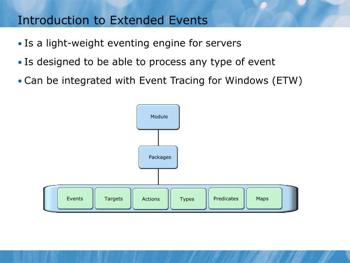 Introduction to Extended Events