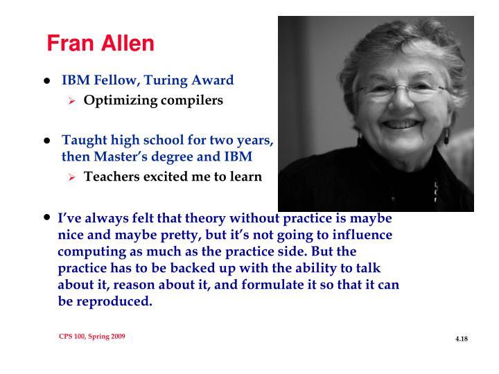 Fran Allen