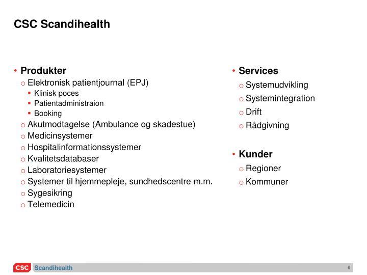 CSC Scandihealth