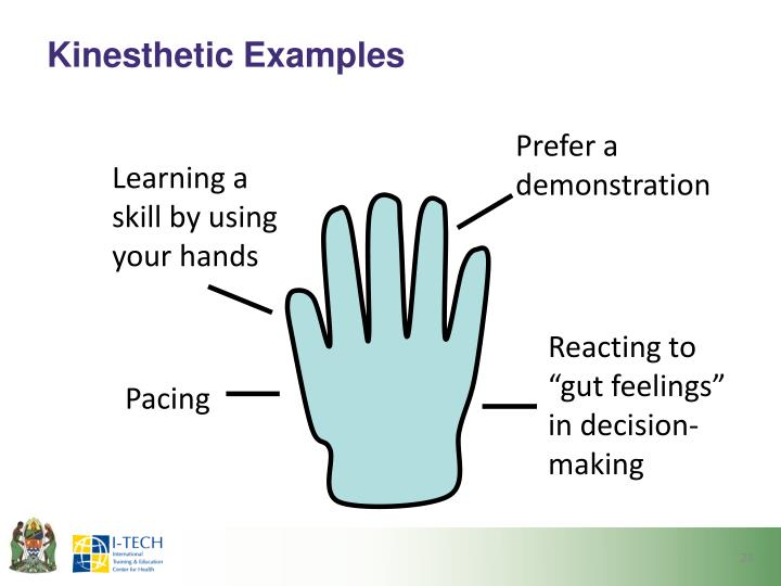 Kinesthetic Examples
