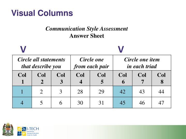Visual Columns