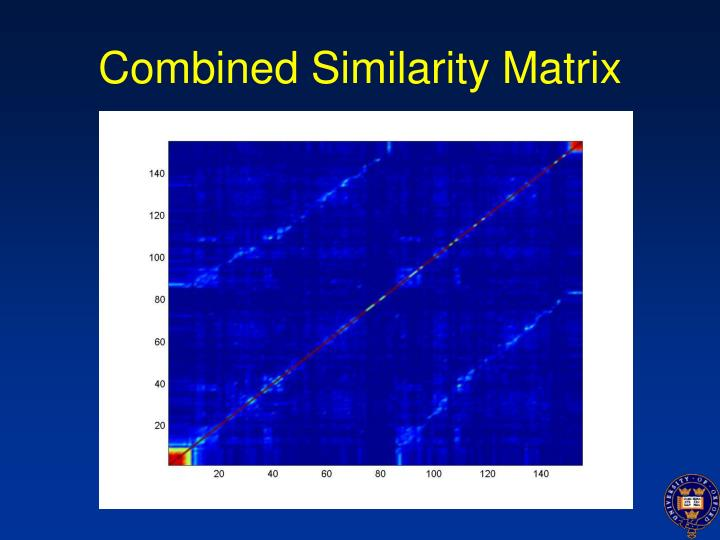 Combined Similarity Matrix