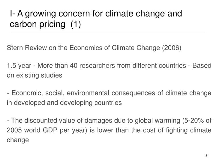 Stern Review on the Economics of Climate Change (2006)