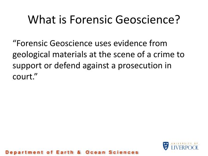 "why forensic science Any choice is wise or poorly chosen it's like asking: ""which diet is better"" the real, down to earth question is: "" am i willing to go through, ""whatever is necessary"" to loose weight."
