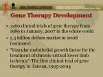 gene therapy development