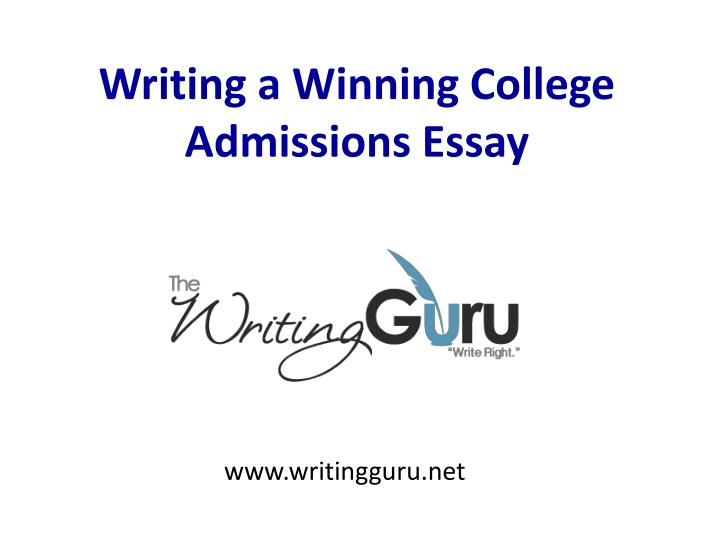 writing a college admissions essay Learn to write college application essays that will impress admissions officers and help improve your chances of getting into a top-choice school.