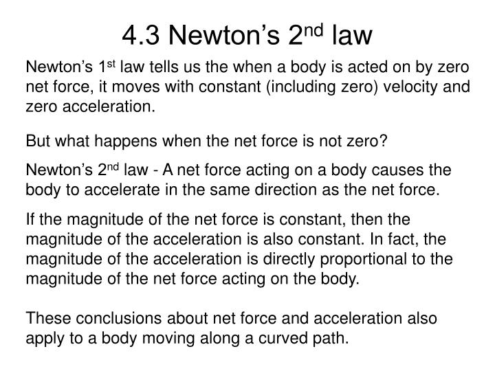4.3 Newton's 2