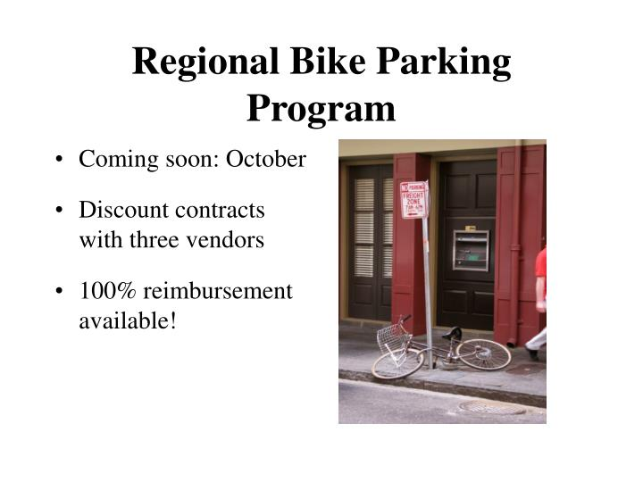 Regional Bike Parking Program