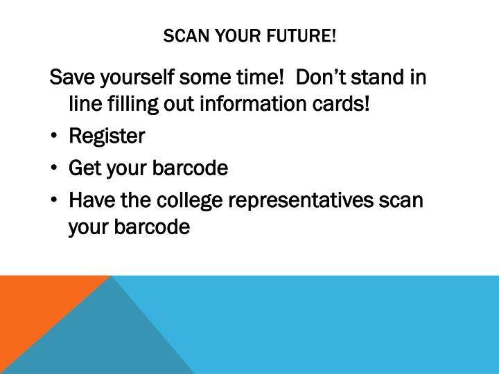 Scan your future!