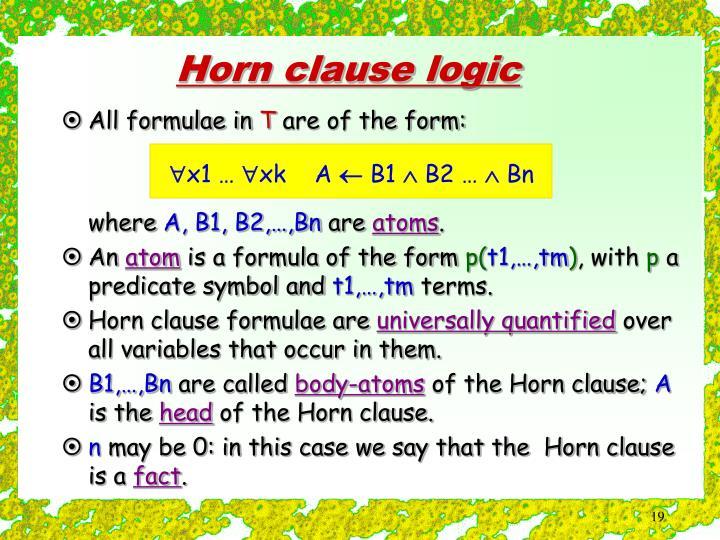 All formulae in