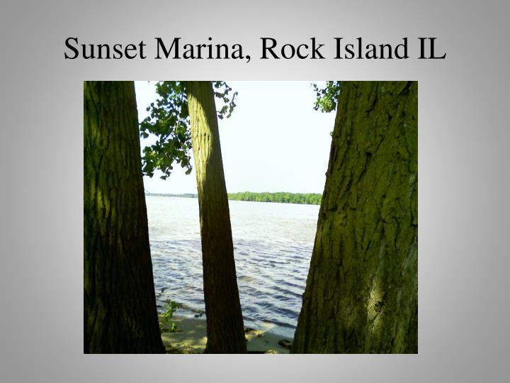 Sunset Marina, Rock Island IL