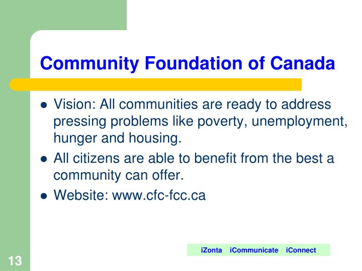 Community Foundation of Canada