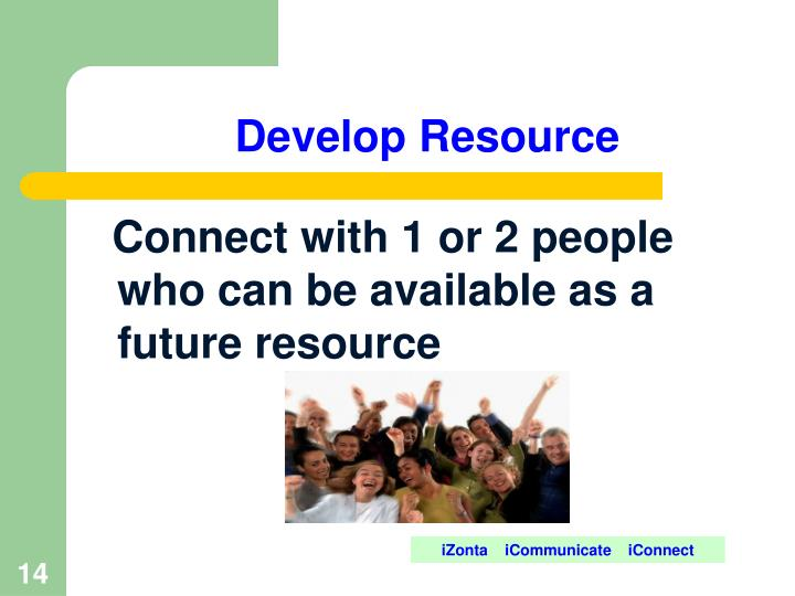 Develop Resource