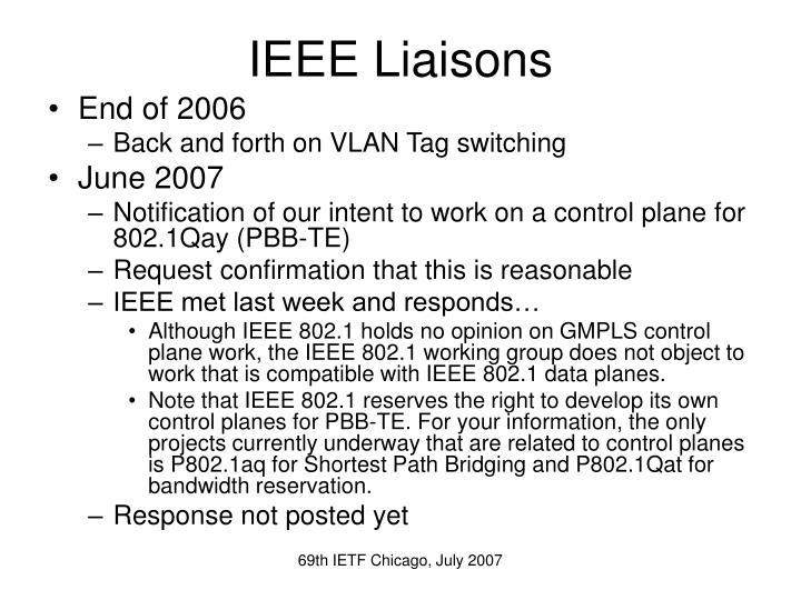IEEE Liaisons