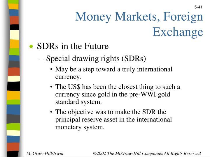 Money Markets, Foreign Exchange