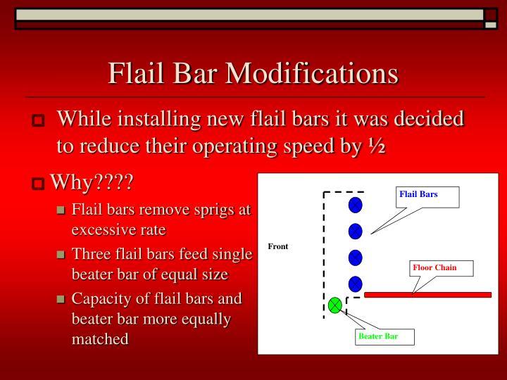 Flail Bars