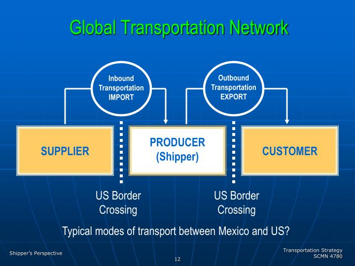 Global Transportation Network