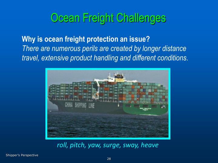 Ocean Freight Challenges