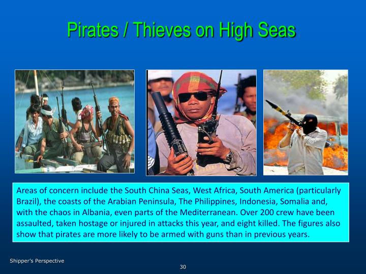 Pirates / Thieves on High Seas