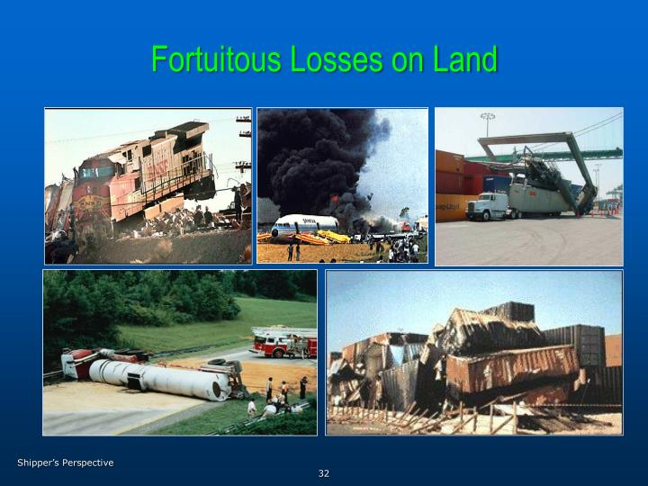 Fortuitous Losses on Land