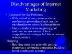 disadvantages of internet marketing2