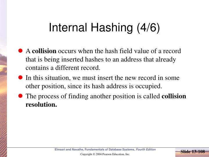 Internal Hashing (4/6)