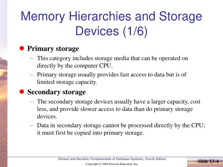 Memory Hierarchies and Storage Devices (1/6)